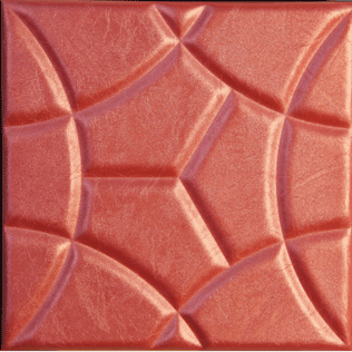 دیوارپوش چرمی سه بعدی مدل Losteye