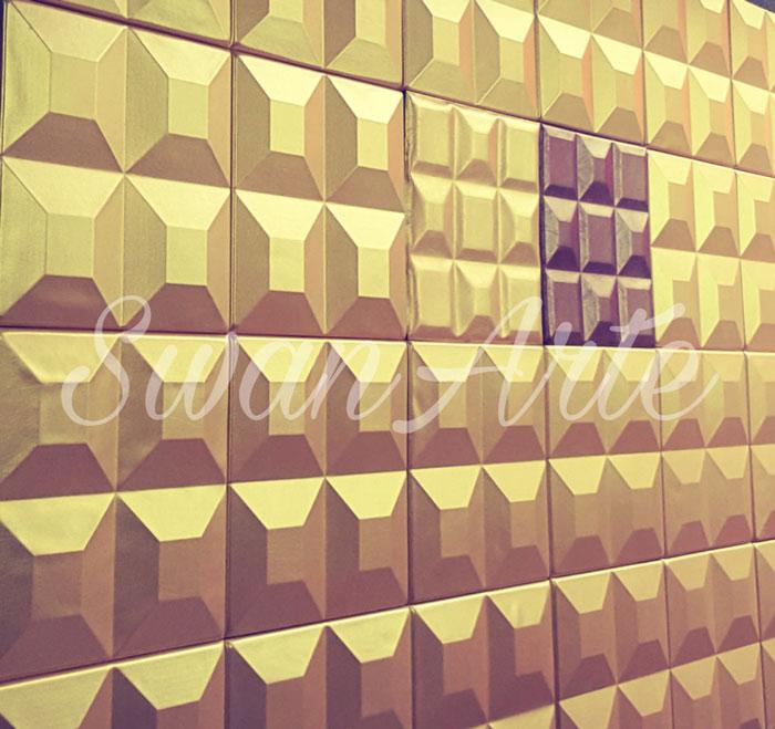 دیوارپوش چرمی سه بعدی با طرح Zeus
