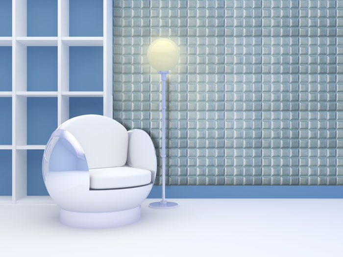 دیوارپوش چرمی سه بعدی با طرح zurich